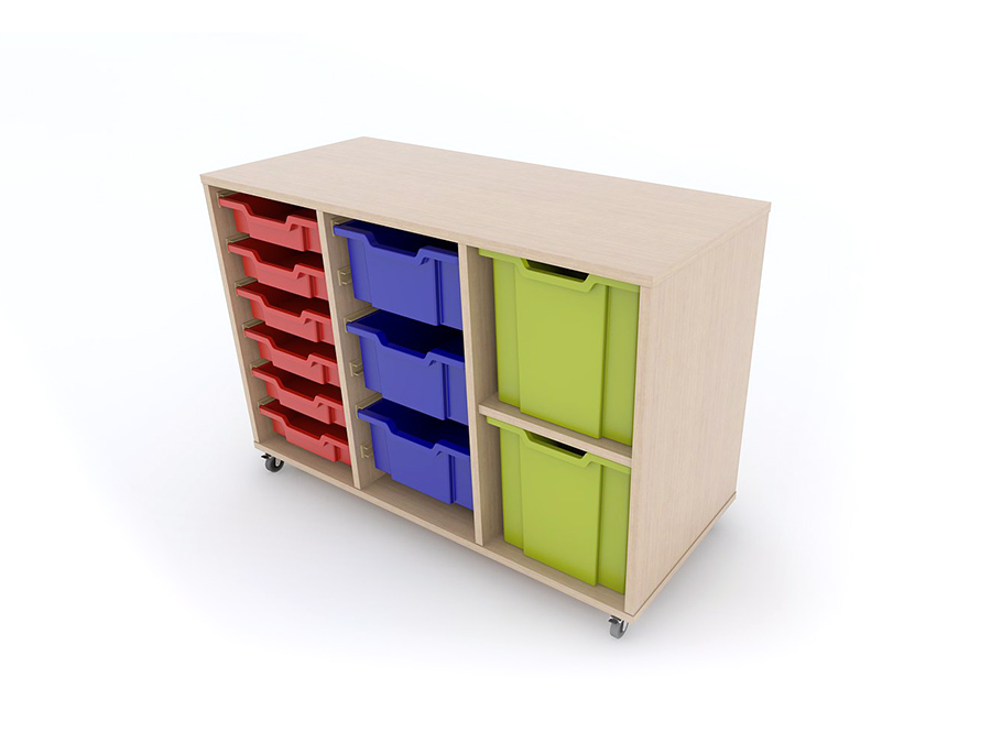 Mobile Combination Tray Units